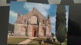CSM - 17470. Aulnay - L'église Romane, La Façade - Aulnay