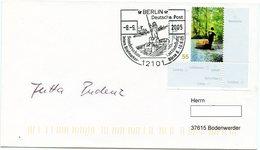Kahnpost - Spreewald - 2005 - Originalunterschrift Der Damaligen Postzustellerin!!! - Schiffe