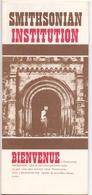 Brochure Dépliant Faltblatt Folder - Toerisme Tourisme - Smithsonian Institution - Washington DC - Bienvenue - Dépliants Touristiques