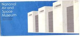 Brochure Dépliant Faltblatt Folder - Toerisme Tourisme - Smithsonian Institution - National Air & Space Museum - Dépliants Touristiques