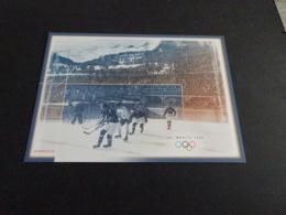 FC868 -  Card -  Suisse - 2002 - ST. Moritz  - Olympics - Invierno 1948: St-Moritz