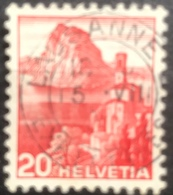 Helvetia - 1938 - (o) - Used - San Salvatore - Lausanne - Switzerland