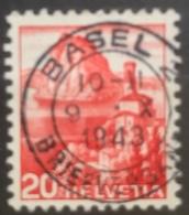 Helvetia - 1938 - (o) - Used - San Salvatore - Basel - Switzerland