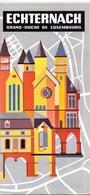 Brochure Dépliant Faltblatt Folder - Toerisme Tourisme - Echternach Luxembourg - Dépliants Touristiques