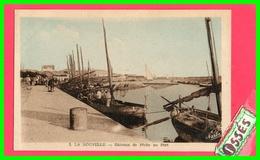 LA NOUVELLE - Bâteaux De Pêche Au Port  Oblité.1946. (recto Verso) - Port La Nouvelle