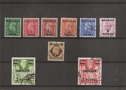 Bahrein ( Lot De Timbres Divers Différents à L'effigie De Georges VI ( Années 1948/49) Oblitérés) - Bahrain (...-1965)