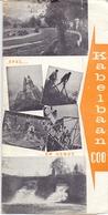 Brochure Dépliant Faltblatt Folder - Toerisme Tourisme - Kabelbaan Coo - Dépliants Touristiques