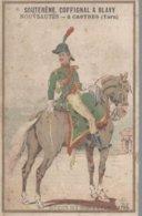 CHROMO SOUTERENE COFFIGNAL & BLAVY NOUVEAUTES CASTRES  OFFICIER DES GUIDES D'EGYPTE 1799 - Chromos
