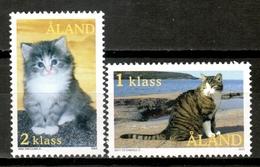 Aland 2003 / Animals Mammals Cats MNH Gatos Katzen Chats Säugetiere / Cu16414  18-29 - Domestic Cats
