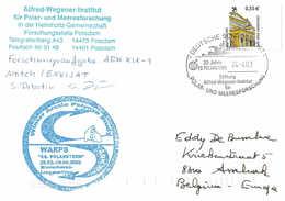 German POLARSTERN ARK XIX-1 Postmarked 24 AP 2003 - Winter Arctic Polynya Study - Arctische Expedities