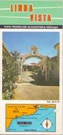 Brochure Dépliant Faltblatt Folder - Toerisme Tourisme - Espagne - Linda Vista - San Pedro De Alcantara - Malaga 1967 - Dépliants Touristiques