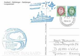 German POLARSTERN ARK XIX-1 Postmarked 28 AP 2003 Longyearbyen - Winter Arctic Polynya Study - Arctische Expedities
