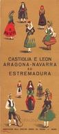 Brochure Dépliant Faltblatt Folder - Toerisme Tourisme - Espagne - Castiglia E Leon - Aragona , Navarra - Dépliants Touristiques