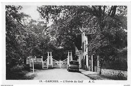 Garches. L'entrée Du Golf De Garches. - Garches