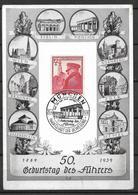 Deutsches Reich 1939 -  Post Card - 50 Geburtstag Des Führers - Sonstige