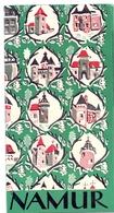 Brochure Dépliant Faltblatt Folder - Toerisme Tourisme - Die Provinz Namur - 1958 - Dépliants Touristiques