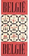 Brochure Dépliant Faltblatt Folder - Toerisme Tourisme - België - Dépliants Touristiques