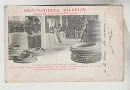 LOT 7032045 CPA PIONNIERE CLERMONT FERRAND (Puy De Dome) PUBLICITE - Pneumatiques MICHELIN : Atelier Montage Aux Voiture - Clermont Ferrand