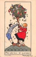 """01472 """"PRO ORFANI DI GUERRA"""" ANIMATO, ILLUSTRATORE PAOLO BOLOGNA 1917.  CART SPED 1919 - Vari"""