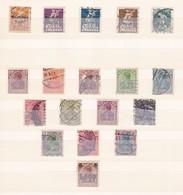 Deutsches Reich  - 1920/1921 - Sammlung  - Gest. - Deutschland