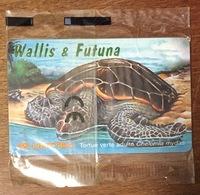 WALLIS & FUTUNA TORTUE VERTE TÉLÉCARTE 25U RÉF PHONECOTE WF35 NSB PHONECARD CARTE A PUCE POUR COLLECTION - Wallis And Futuna