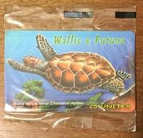 WALLIS & FUTUNA JEUNE TORTUE VERTE TÉLÉCARTE 25U RÉF PHONECOTE WF34A NSB PHONECARD CARTE A PUCE POUR COLLECTION - Wallis And Futuna