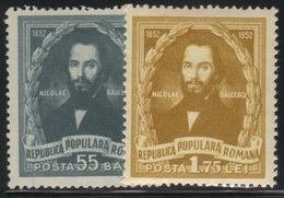 Roumanie 1952 Yvert 1285/86 Neufs** MNH (AB24) - 1948-.... Repubbliche