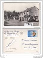 BELGIQUE  ESSENCE 2742  AK/PC CPA NEUFMOULIN CHEVRON CARREFOUR DE NEUFMOULIN CAFE RESTAURANT POMPE A ESSENCE SHELL TBE - Namur