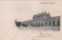 SP- 54 - LUNEVILLE - La Gare - Precurseur - Timbre - Cachet - 1903 - Luneville