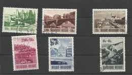 OCB 918 ==> 923 Gestempeld - Used Stamps