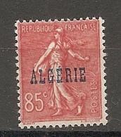 ALG - Yv.  N°  28   *   85c  Surchargés Cote  1 Euro BE   2 Scans - Algeria (1924-1962)