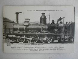 FERROVIAIRE - Locomotive - Coll. F. Fleury - Machine N° 602 à Vapeur Saturée Pour Service De Voyageurs - PLM - 1850 - Trains