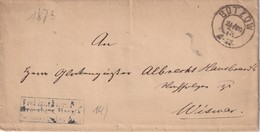 ALLEMAGNE  1873 LETTRE DE BÜTZOW - Deutschland