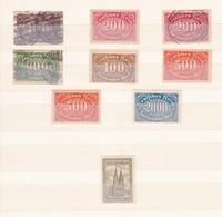 Deutsches Reich  - 1922/23 - Sammlung  - Ungebr./Postfrisch/Gest. - Deutschland