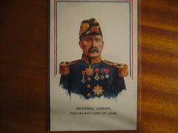 BELGIQUE     Général Leman - Personen