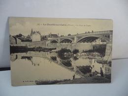 49. LA CHARITÉ SUR LOIRE 58 NIÈVRE LE PONT DE FONTE CPA 1910 B.F.PARIS - La Charité Sur Loire