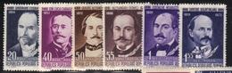 Roumanie 1960 Yvert 1664/69 Neufs** MNH (AB23) - 1948-.... Repubbliche