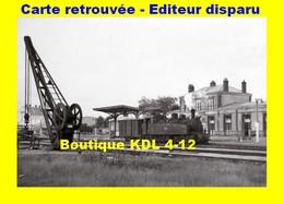 BVA 658-12 - Train - Loco 030+030 T N° E 414 En Gare - LOUDEAC - Côtes D'Armor - RB - Loudéac