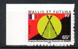 WALLIS & FUTUNA. N°654 De 2006. Drapeau Monarchique Du Royaume De Sigave. - Timbres