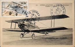 """CPSM.-  Avions > 1919-1938: Entre Guerre > Istres-Aviation - Avion De Tourisme CAUDRON """" LUCIOLE """" TBE - 1919-1938: Between Wars"""
