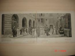 Lamina-Paris-1900--La Grande Journee Du Conservatoire-L'Escalier Henri Ii Du Petit Saint-Thomas-Le Museum - Ancianas (antes De 1900)