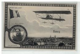 54 NANCY AVIATION CIRCUIT DE L EST BIPLAN SOMMER ET LEGAGNEUX FANTAISIE PHOTOMONTAGE AVION PLANEUR - Nancy