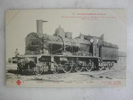 FERROVIAIRE - Locomotive - Coll. F. Fleury - Machine Mixte Compound à 6 Roues - Orléans - Série 1701 à 1725 - Trains