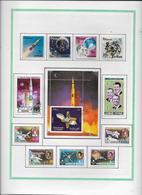 Thème Espace - Collection Vendue Page Par Page - TB - Space