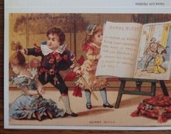 Petit Calendrier Poche 2004 Illustration Barbe Bleue Conte Enfants ....coiffeur La Châtre - Calendars