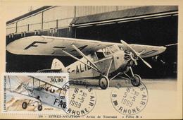 """CPSM.-  Avions > 1919-1938: Entre Guerre > Istres-Aviation - Avion De Tourisme """"POTEZ 36"""" - TBE - 1919-1938: Entre Guerres"""