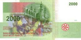 COMOROS P. 17a 2000 F 2005 UNC - Comores