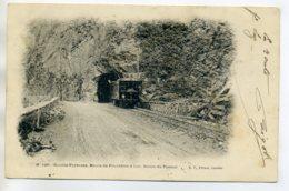 65 TRAMWAY Sortie De Tunnel Route De PIERREFITTE à LUC 1904 Timb    /D13-2017 - France