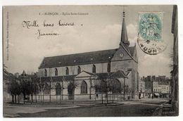 ALENCON-- 1906 - Eglise St Léonard  .......à Saisir - Alencon