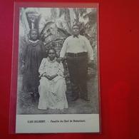 ILES GILBERT FAMILLE DU CHEF DE BUTARITARI - Micronésie